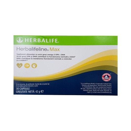 Herbalifeline MAX, supliment alimentar cu Omega 3 pur