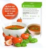 Supa de rosii gourmet cu continut caloric scazut